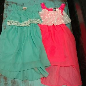 Other - Girls Hi Low Spring Summer Dress Lot 7/8
